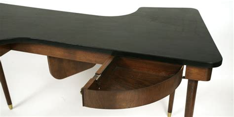 s shaped desk leather top s shaped desk modern furniture