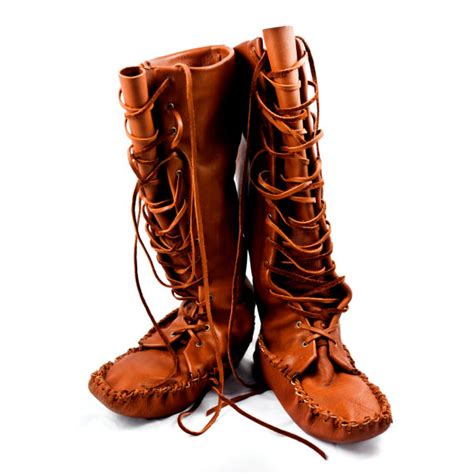 Handmade High - items similar to leather knee high moccasin boots on etsy