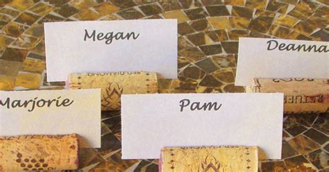 how to make cork place card holders studios tutorial tuesday how to make wine cork