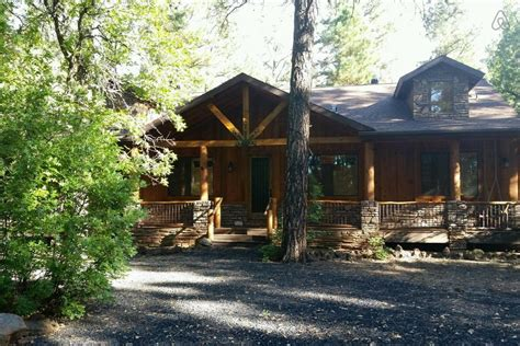 Cabin Rentals Pinetop Lakeside Az by Spacious Relaxing Forested Retreat White Mountain Cabin