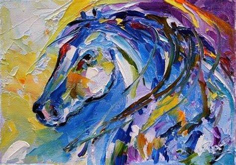 cuadros pintados a espatula horse oil painting http lomets