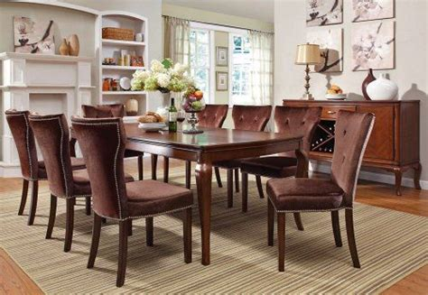 warm brown formal dining room sets for 8 with glass door 1000 images about dining tables on pinterest