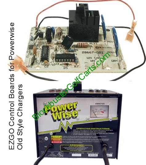 ezgo charger parts board e z go golf cart powerwise chargers most