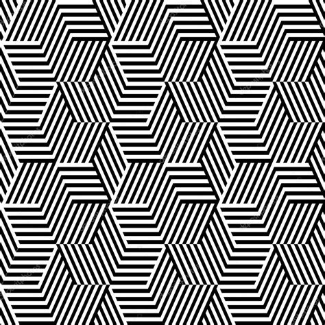 pattern line black white pattern with line black and white in zigzag stock vector