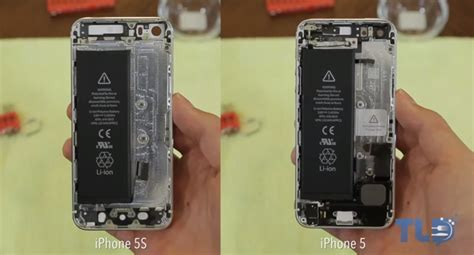iphone 5s teardown shows room for larger battery