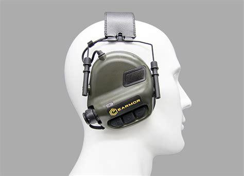 Earmor M31 Electronic Hearing Protector m31 electronic hearing protector coyote accesories shooting gear hearing