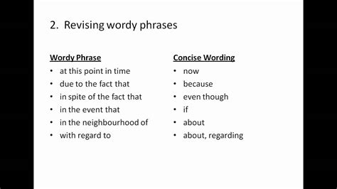brief concise and clear the basics of writing for relations and communications books writing concise sentences
