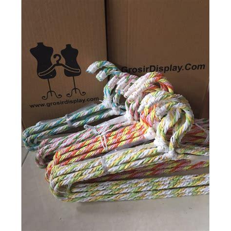 Gelang Lilit Swarovski Panjang 30cm gantungan baju ulir hanger motif lilit rotan anak grosir