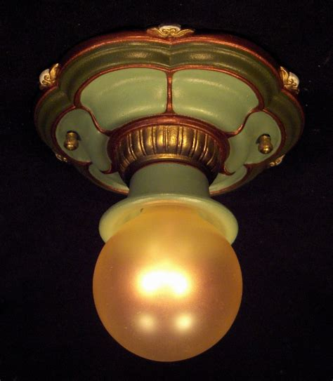 Vintage Light Fixture Kittdell Vintage Light Fixtures