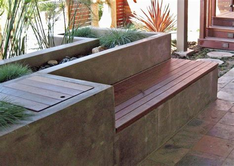 garden bench planter 25 best ideas about outdoor storage benches on pinterest
