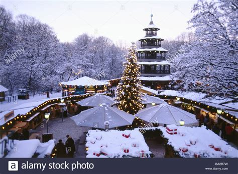 englischer garten weihnachtsmarkt deutschland kellner bayern m 252 nchen englischer garten