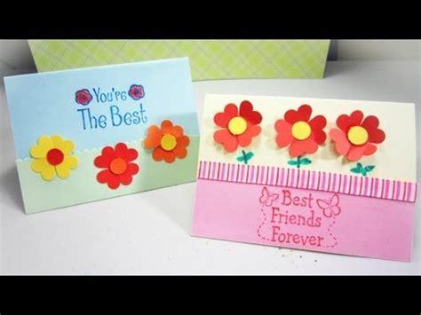 como realizar tarjetas para vender como hacer una tarjeta episodio 546 c 243 mo hacer una tarjeta con florecitas de