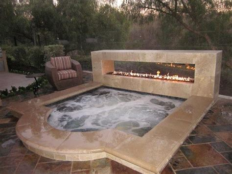 outdoor hot tub fascinating outdoor hot tubs that will add style to your life