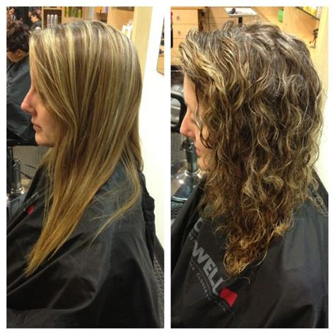 hair salons that do perms beach wave perm before and after perm pinterest hair