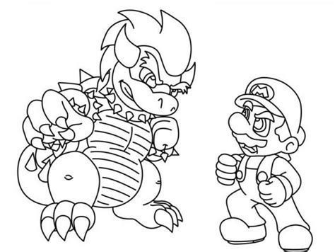 coloring sheets printable pages of mario characters pictures print