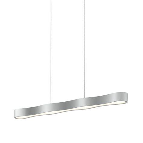Led Island Lights Sonneman 1734 16 Corso Linear Contemporary Bright Satin Aluminum Led 34 5 Quot Kitchen Island Light