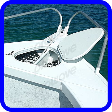 boat anchor cover z anchor well cover king board side consoles