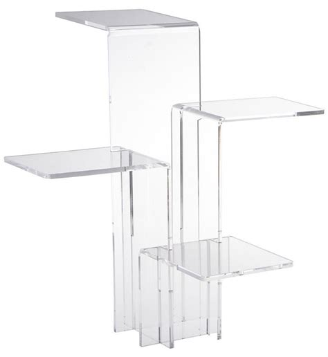 Pedestal Display Stand Pedestal Riser Acrylic Display Stand For Retail Stores