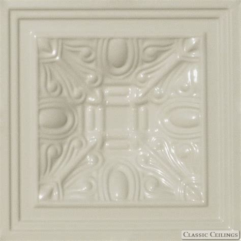 Ceiling Tiles 1x1 by 1x1 Recessed Painted Tin Ceiling Design 508