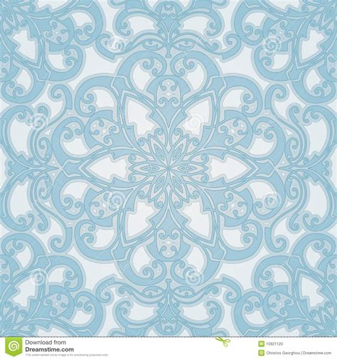 beautiful tile beautiful natural seamless geometric tile design stock