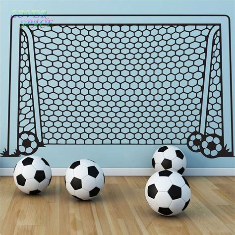 soccer home decor aliexpress com buy wall decals vinyl decor art wall