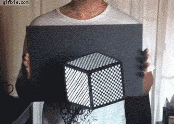 imgur photo has scary hidden illusion daily mail online 3d cube optical illusion best funny gifs updated daily
