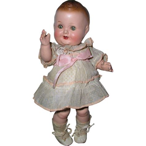 composition doll vintage vintage composition freundlich character doll baby