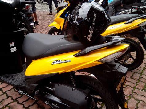 Lu Led Motor Mio M3 mio m3 vs adress warna kuning siapa yang paling keren