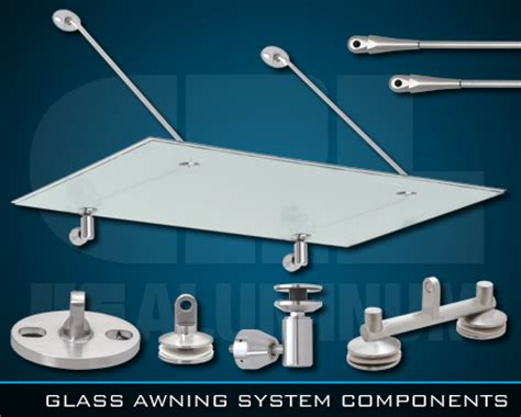 glass awning system crl glass awning support system