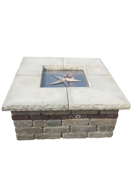 47 inch square pit burner kit fireboulder