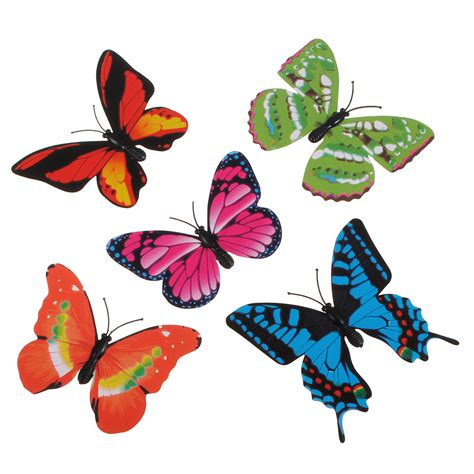 Xmas Decoration Ideas Home 3d artificial butterfly pin party wedding decoration xmas