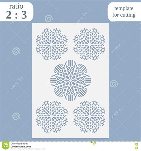 Cutting Templates Card by Paper Openwork Greeting Card Template For Cutting Lace
