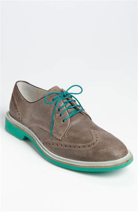 turquoise oxford shoes turquoise cole haan wingtips style file