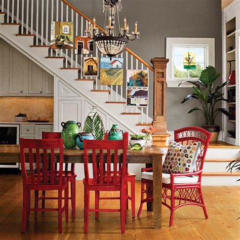 Stylish Dining Room Decorating Ideas Southern Living Colored Dining Room Furniture