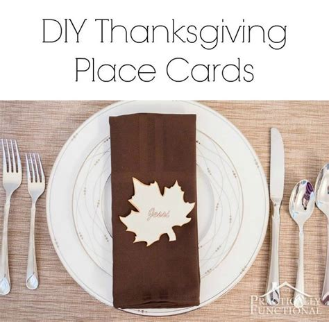 thanksgiving place setting cards template 17 best images about 2014 thanksgiving decoration ideas