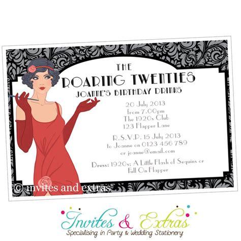Redknot Yolo Black Bonus Free Sandal roaring 20s invitation personalised naraly gift ideas 1920s