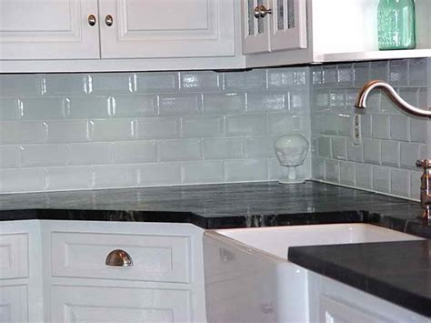 Subway Tiles Kitchen Backsplash | kitchen gray subway tile backsplash glass mosaic tile