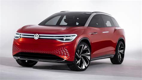 Volkswagen Id 2019 by Vw Id Roomzz Shanghai 2019 Elektro Suv Mit Sieben