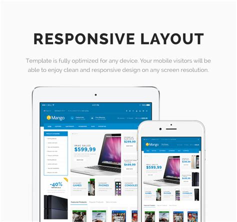html themes nulled nulled template mango responsive ecommerce html5