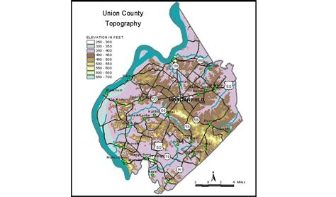 kentucky groundwater map groundwater resources of union county kentucky