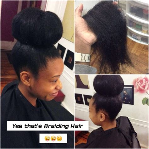 fake braid around bun 270 best images about natural hairstyles on pinterest