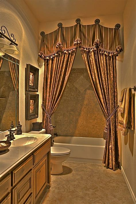 guest bathroom ideas decor 1000 ideas about double curtains on pinterest double