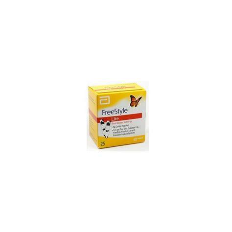 test glicemia freestyle lite 25 strisce reattive glicemia autotest