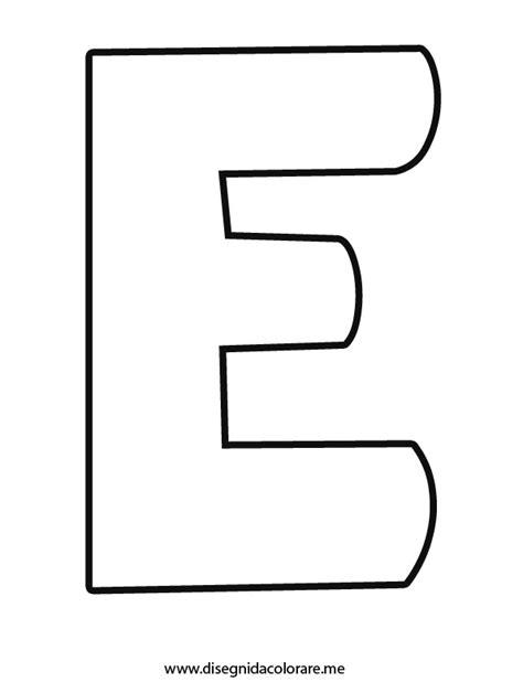 lettere da colorare e ritagliare lettera e da colorare disegni da colorare