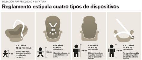 el uso de sillas para ni 241 os en los veh 237 culos particulares