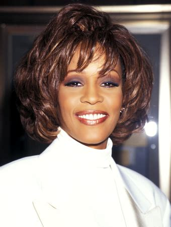 whitney houston hairstyles gallery remembering whitney houston instyle com