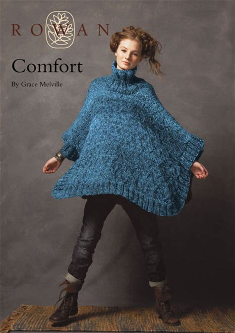 comfort cape comfort collared cape in rowan big wool knitting