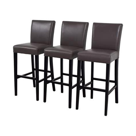 Lowes Bar Stools On Sale by 89 Crate Barrel Crate Barrel Lowe Smoke Leather
