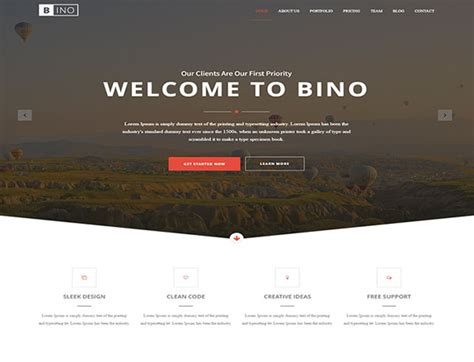 Bootstrap Website Templates Free Download 2017 Html Landing Page Templates Free