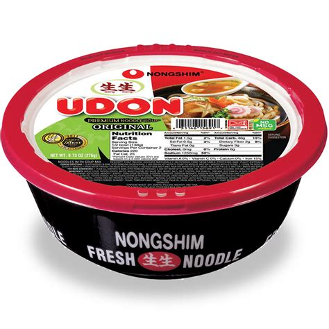 Udon Cup From bowl noodle nongshim usa